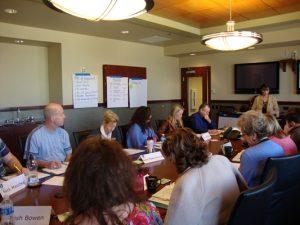 Leadership Academy II: Danny Lowerins, AnneMarie Romme, Ann Cross, Sherri McKinney, Holli Milenski, Archie Guinn, Barbara Kearns and Diana Gunderson