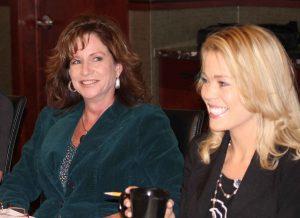 Sherri McKinney and Holli Milenski Leadership Photo