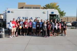 Staff members and friends of IBMC College walked or ran in this year's Jailbreak Family event.
