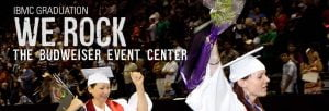 IBMC Graduation Ceremony to take place at the Budweiser Event Center in Loveland, CO on October 14, 2012.